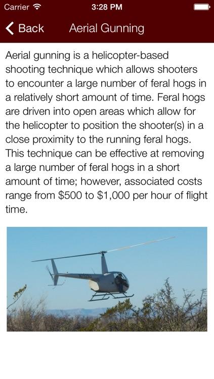 Feral Hog Management screenshot-3
