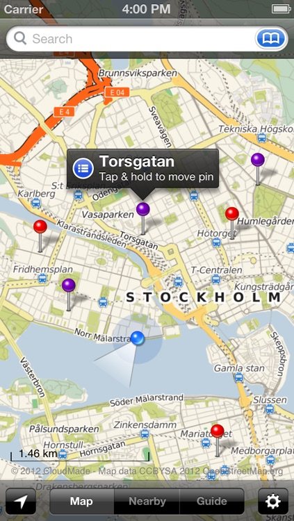 Smart Maps - Stockholm screenshot-0