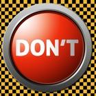 No presione el botón rojo Usted Morón icon