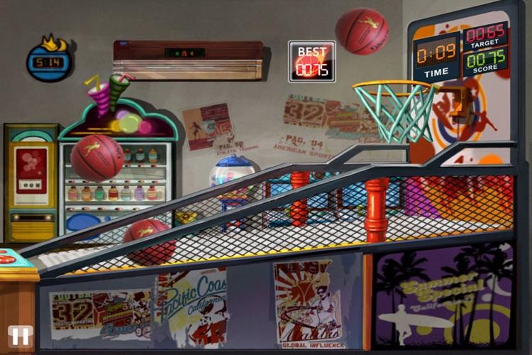 Basketball Toss HD