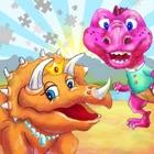 恐竜王国のカラーパズル icon