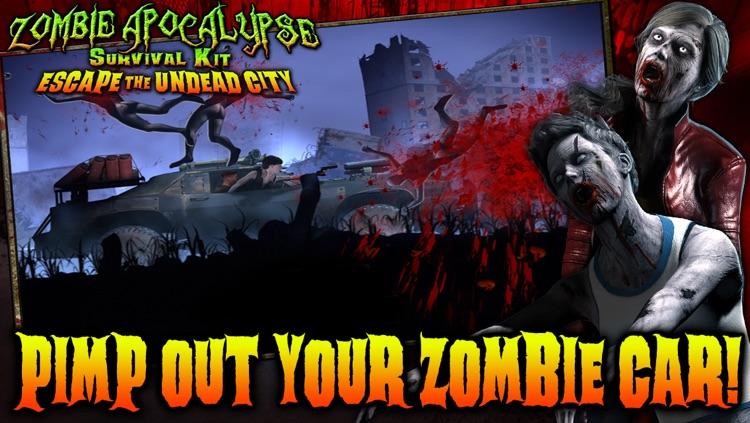 Zombie Apocalypse Survival Kit: Escape the Undead City screenshot-3