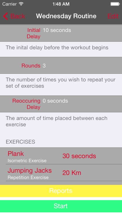 Fitness Timer - by WillWorks