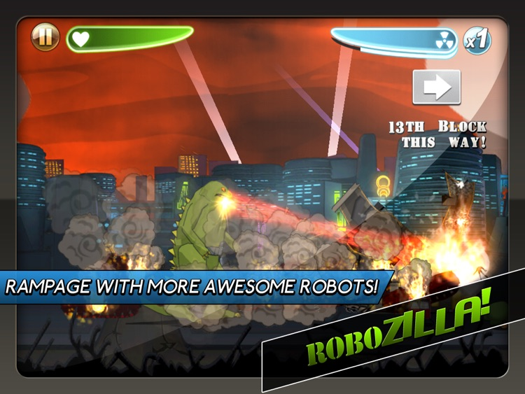 Robot Rampage HD screenshot-1