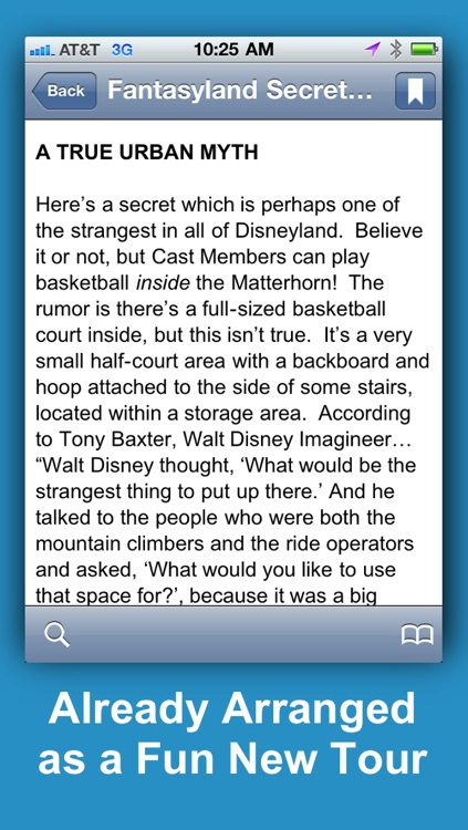 Disneyland Secrets Notescast screenshot-2
