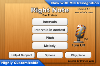 Right Note - Ear Trainer screenshot one