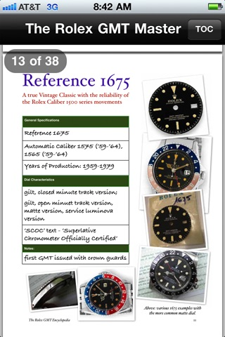 ROLEX GMT MASTER ENCYCLOPEDIA screenshot-2