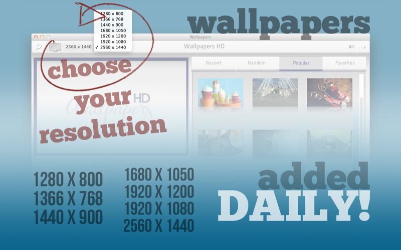 Wallpapers HD Lite Screenshot