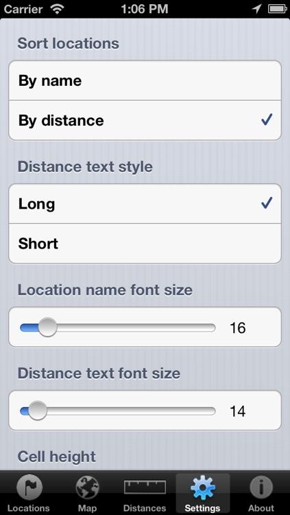 Distances from screenshot-4