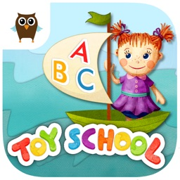Toy School - Letters (Free Kids Educational Game)