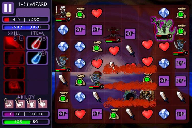Puzzle Dungeons screenshot-3