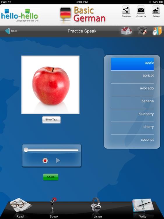 Learn German Vocabulary H-H screenshot-4