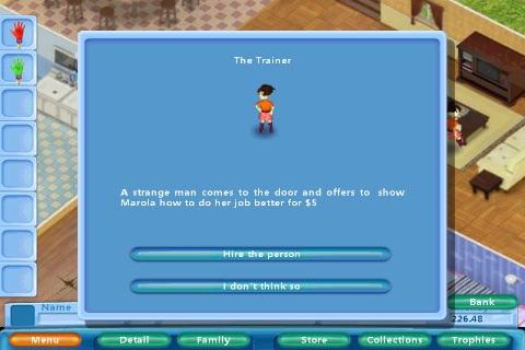 Virtual Families Lite screenshot-3