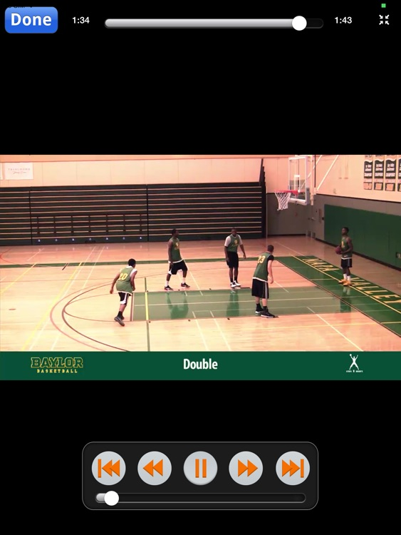 Baylor Bears Crunch Time Plays - With Coach Scott Drew - Full Court Basketball Training Instruction - XL screenshot-3
