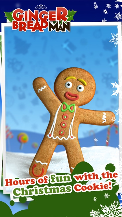 Talking Gingerbread Man screenshot-0