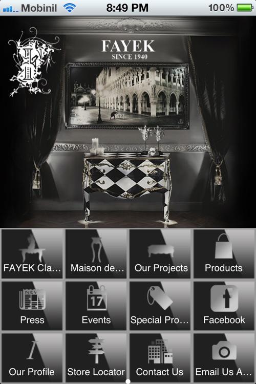Fayek Decorative Furniture by App Concept