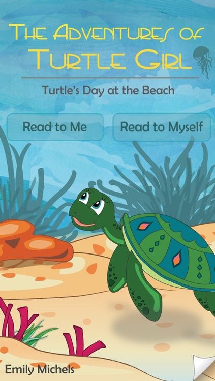 Turtle's Day at the Beach - Interactive Storybook for Kids