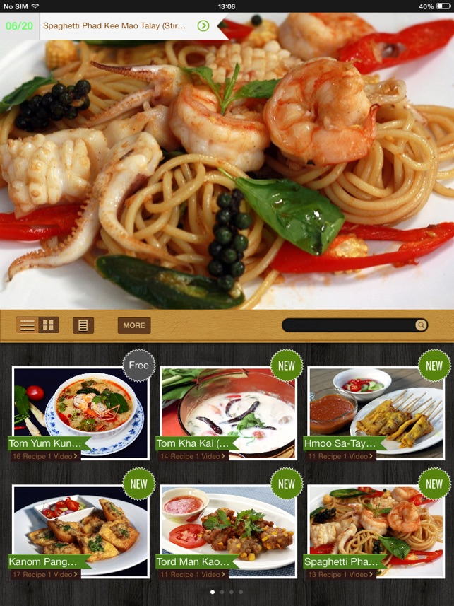 Thai cooking recipes on the app store forumfinder Choice Image