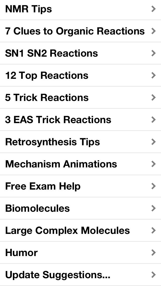 Organic Chemistry Essentials screenshot two