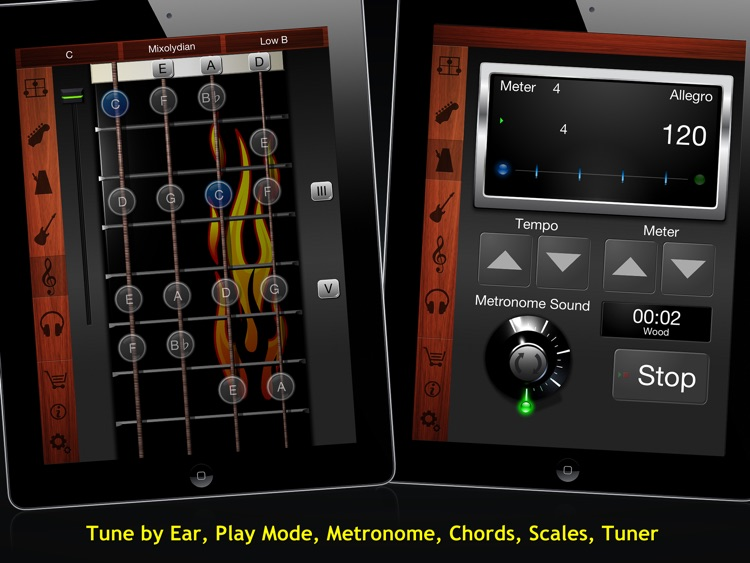 Guitar Suite HD - Metronome, Tuner, and Chords Library for Guitar, Bass, Ukulele