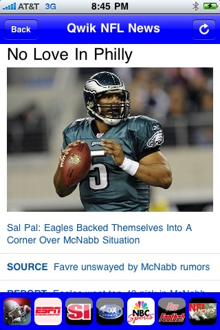 Qwik NFL News screenshot-0