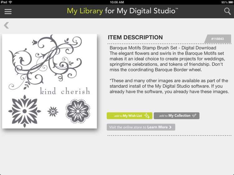 My Library for My Digital Studio screenshot-3