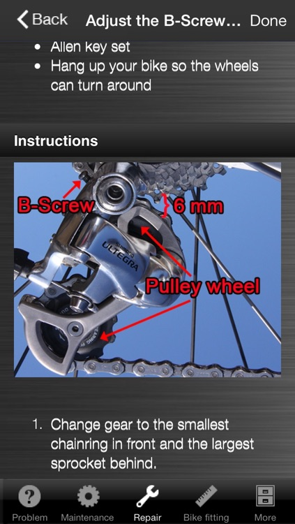 Easy Bike Repair screenshot-3