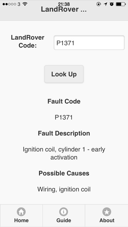 OBD/Manufactures Trouble Codes(Fault Codes)