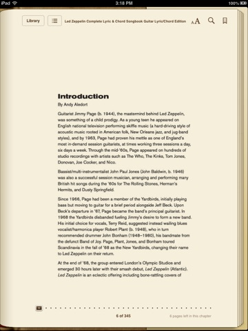 Led Zeppelin Complete Lyric Chord Songbook By Led Zeppelin On Ibooks