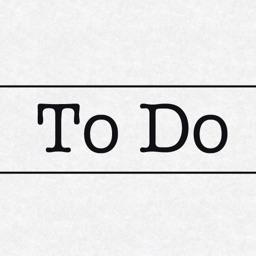 Minimalist To Do List