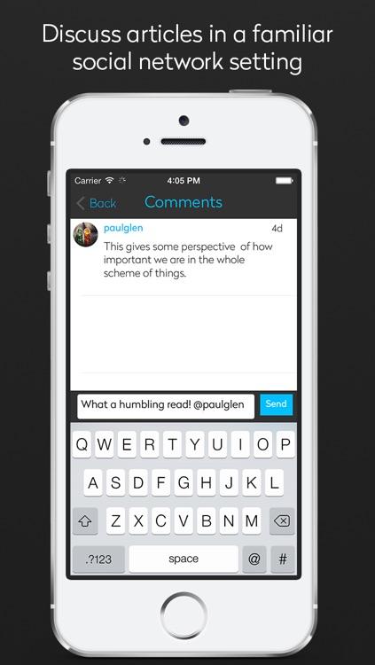 Spark: The Social News Network screenshot-3
