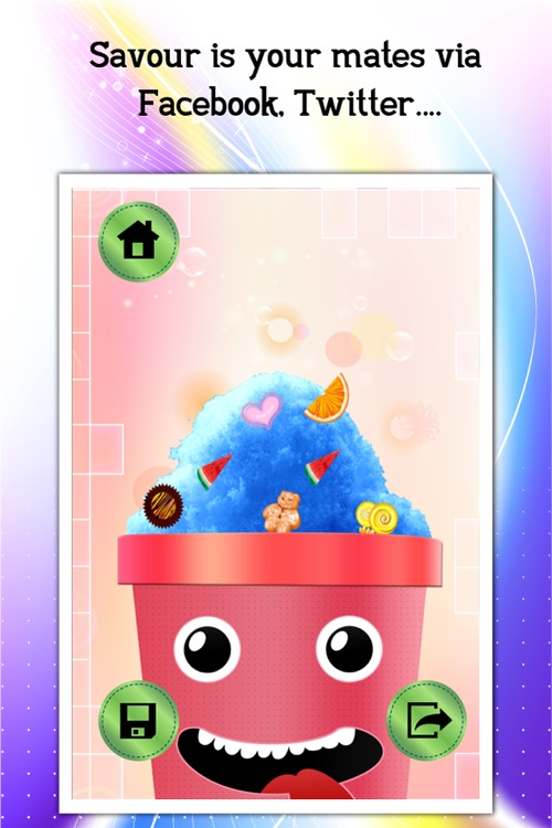 Snow Cone Maker Lite screenshot-4