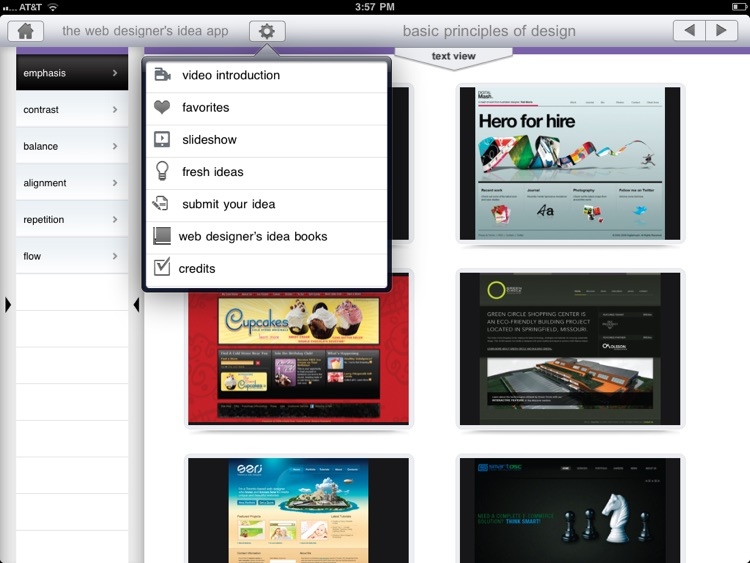 The Web Designer's Idea App by How Interactive Design screenshot-3