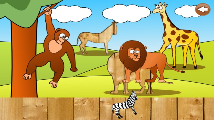 Animal Puzzle for Kids & Toddlers