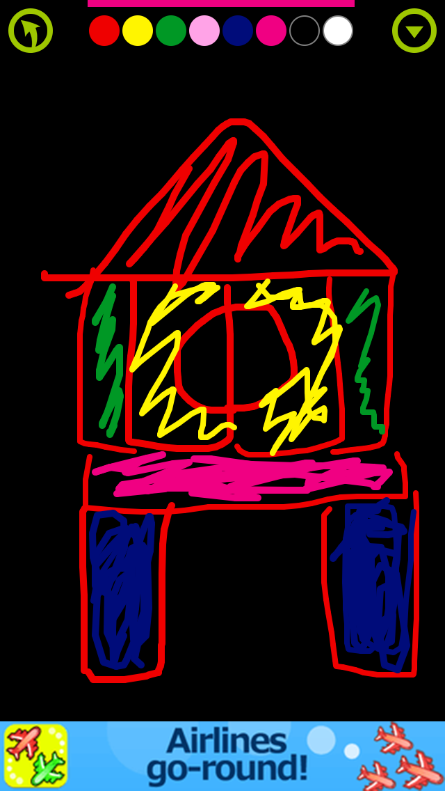 楽しいお絵かき - 知育アプリで遊ぼう 子ども・幼児向け無料アプリのおすすめ画像1