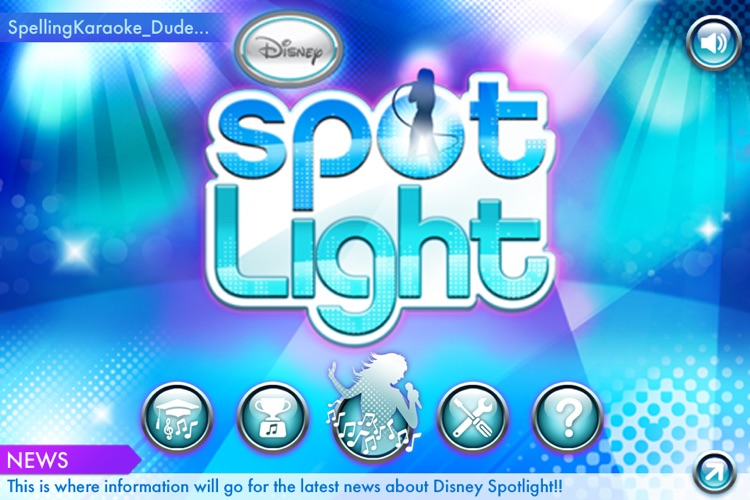 Disney Spotlight Karaoke screenshot-2