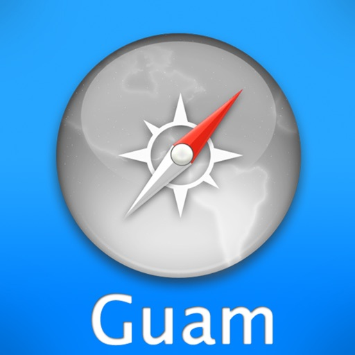 Guam Travel Map