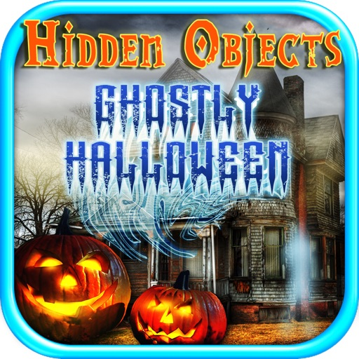 Hidden Objects Ghostly Halloween