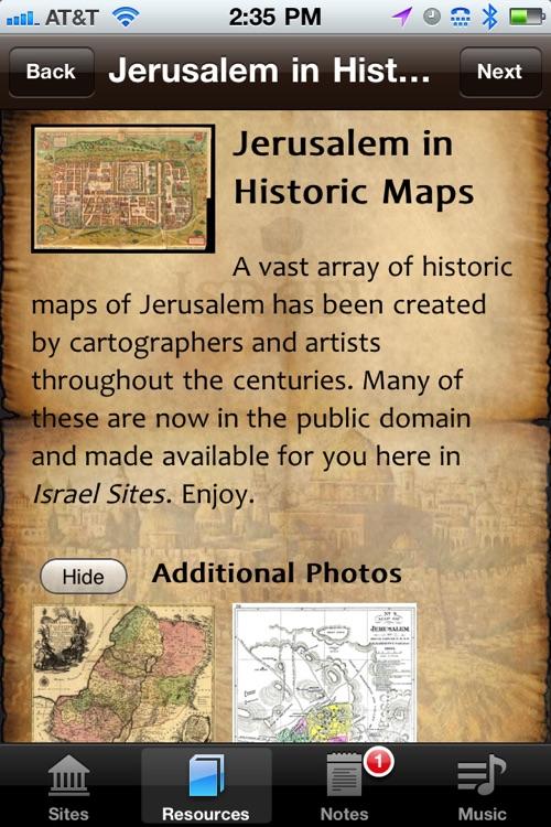 Israel Sites screenshot-3