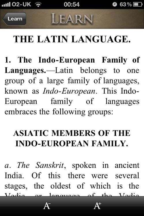 Learn Latin screenshot-3