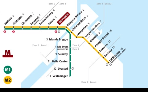 Denmark Subway Maps (Copenhagen) screenshot-4