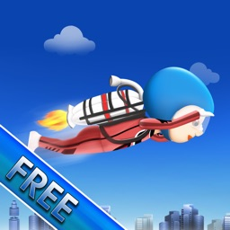 Jetpack City Mazes : The Gravity Clash of 2 Worlds- Free