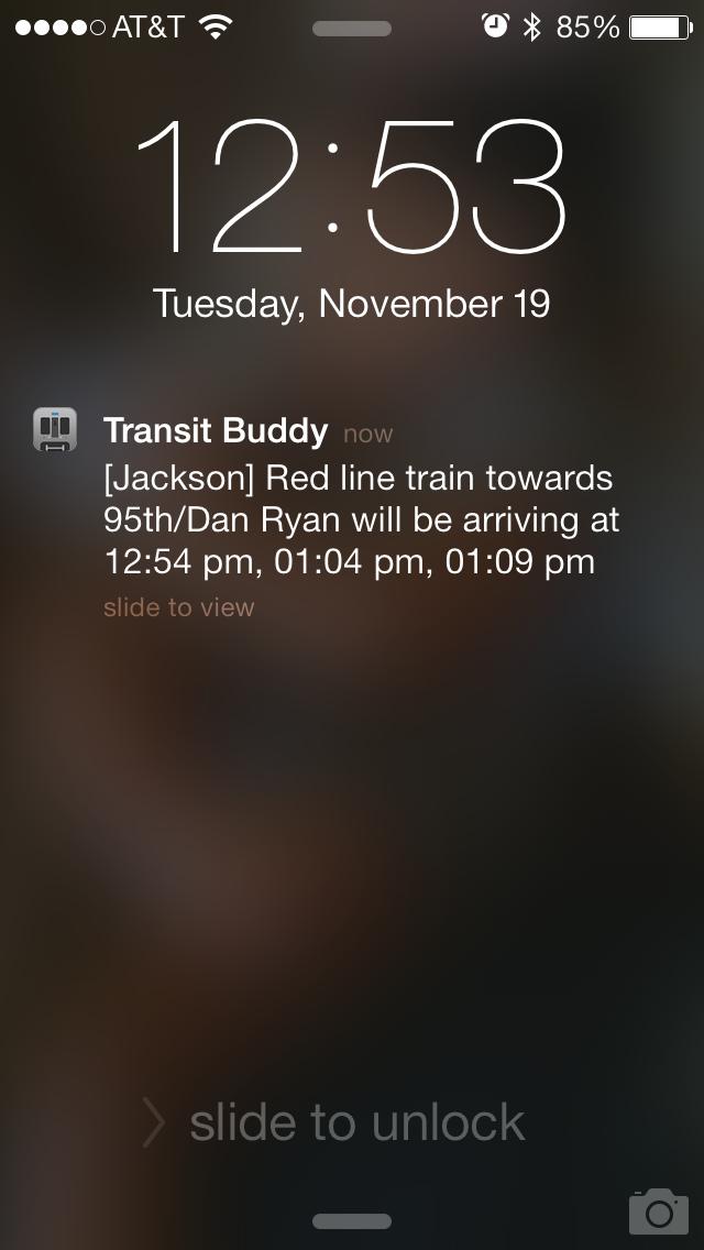 Transit Buddy - CTA Bus/Train Tracker by ShabzCo, LLC (iOS
