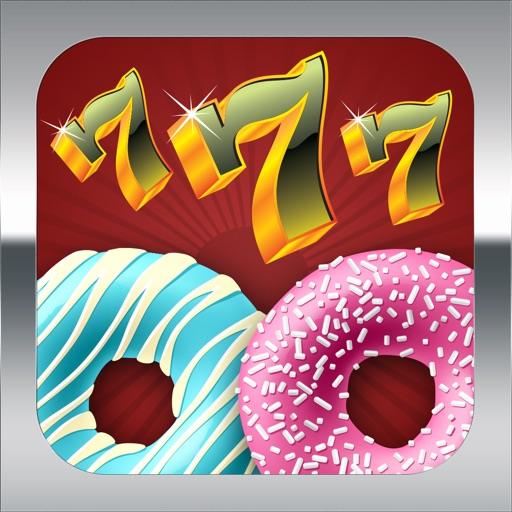 Acme Slots Machine 777 - Donuts on The House Edition with Prize Wheel, Black Jack & Roulette Games