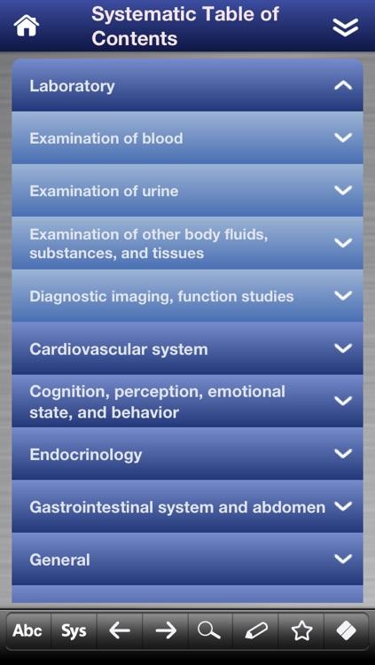 Differential Diagnosis pocket screenshot-4