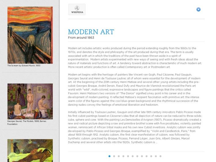 Kronopedia - Visual Arts premium screenshot-3
