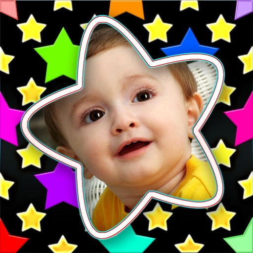 Starry Photo Frames Pro (HD)