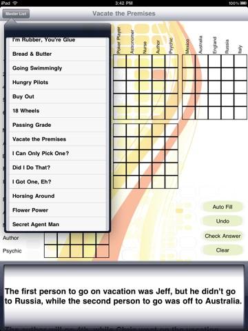 Logic Puzzles HD для iPad