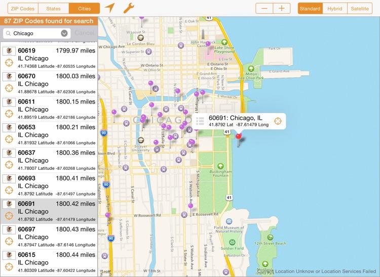 ZIP Finder Professional (USA)