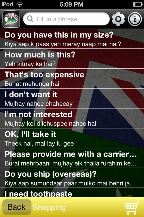 Talk Urdu - Phrasebook for English screenshot-3